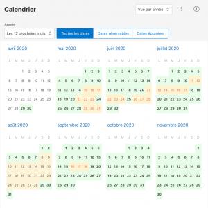 location saint gervais calendrier