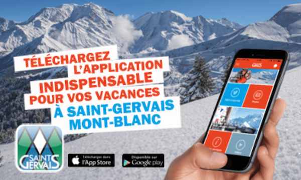 application saint gervais mont blanc