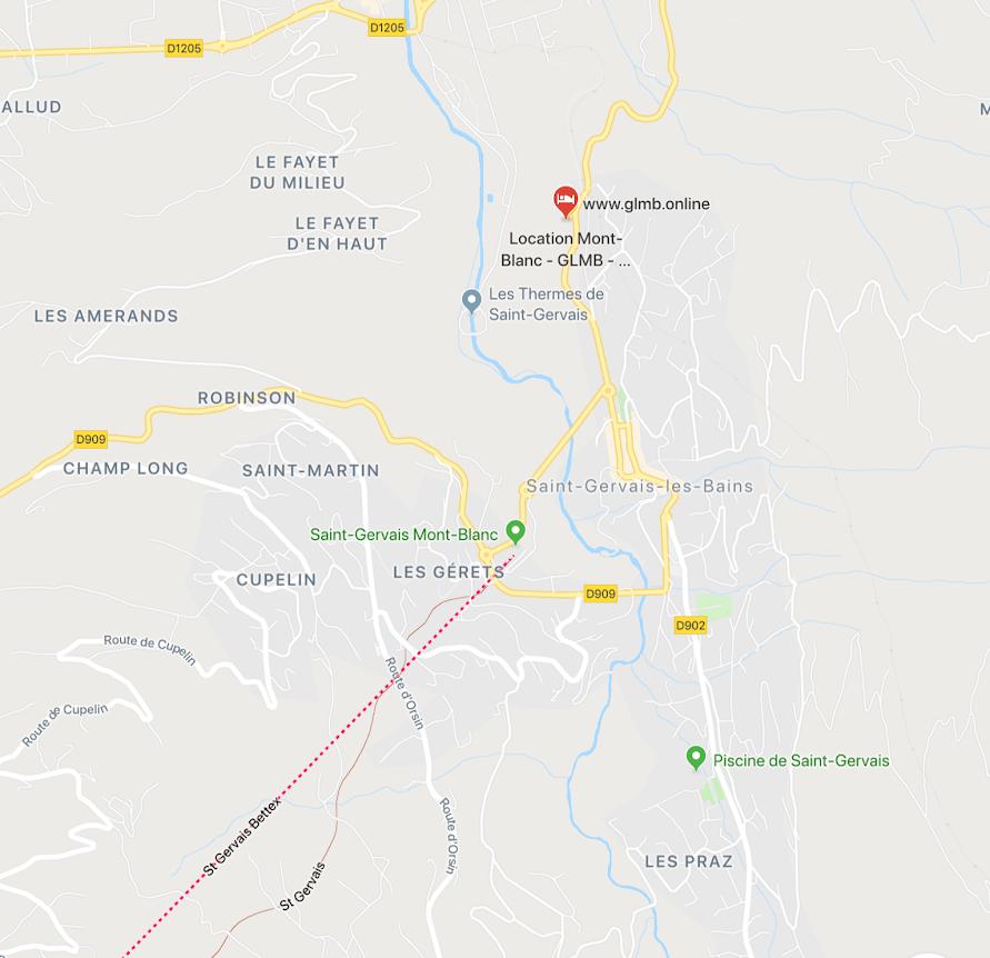 location saint-gervais